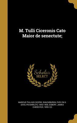 LAT-M TULLI CICERONIS CATO MAI