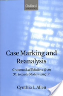 Case Marking and Reanalysis