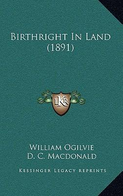 Birthright in Land (1891)