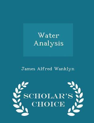 Water Analysis - Sch...