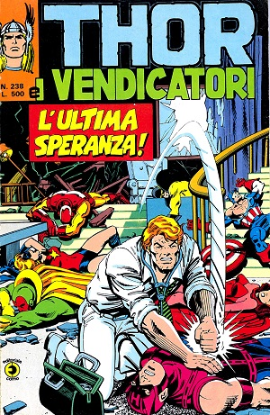 Thor e i Vendicatori (Il Mitico Thor) n. 238