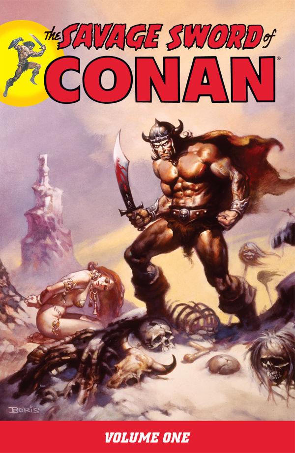 The Savage Sword of Conan, Vol. 1
