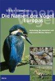 Die Namen der Vögel Europas