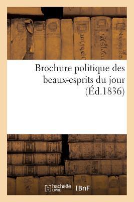 Brochure Politique des Beaux-Esprits du Jour