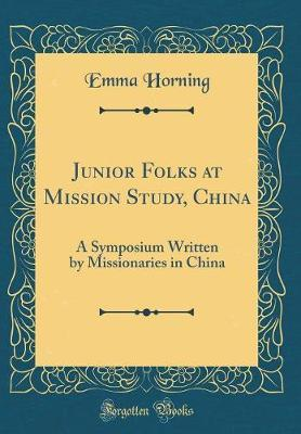 Junior Folks at Mission Study, China