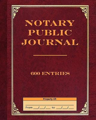 Notary Public Journa...