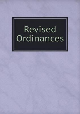 Revised Ordinances