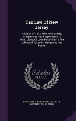 Tax Law of New Jerse...