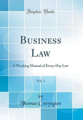Business Law, Vol. 1
