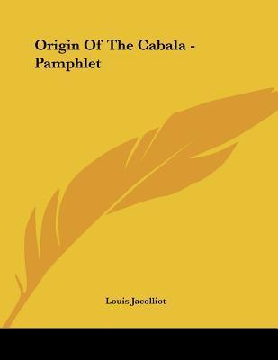 Origin of the Cabala