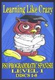 Programmatic Spanish, Level 1, Discs 1-8