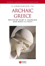 A Companion to Archaic Greece