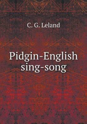 Pidgin-English Sing-Song
