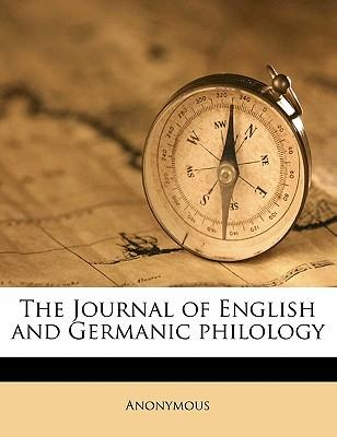 The Journal of English and Germanic Philology