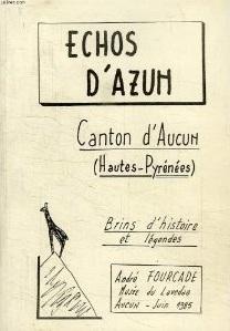 Echos d'Azun. Brin d'histoires et légendes