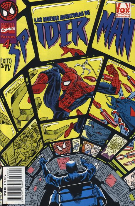 Las nuevas aventuras de Spiderman Vol.1 #4 (de 15)