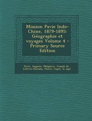 Mission Pavie Indo-Chine, 1879-1895