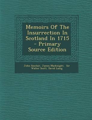 Memoirs of the Insur...