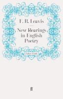 New Bearings in English Poetry