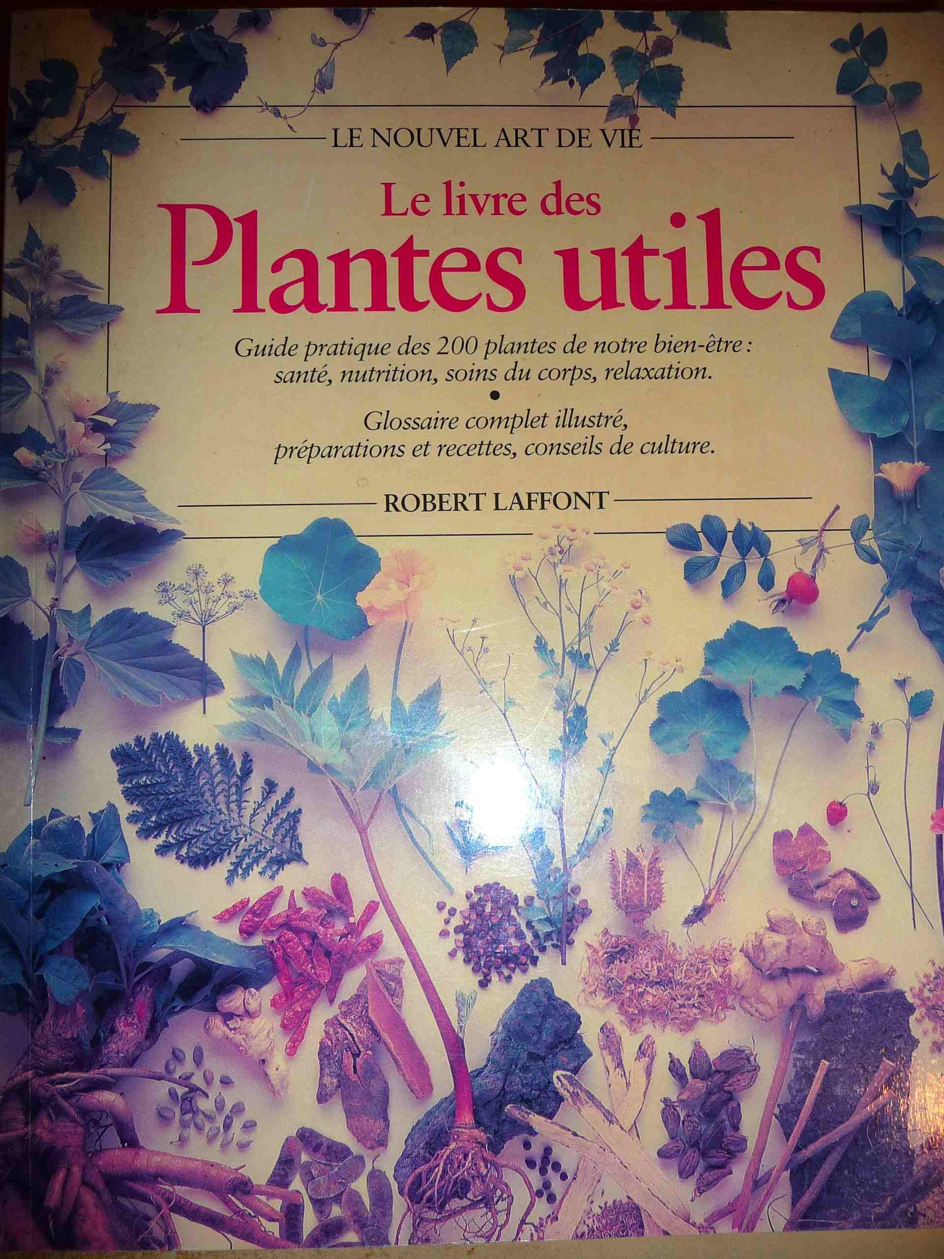 Le livre des plantes utiles