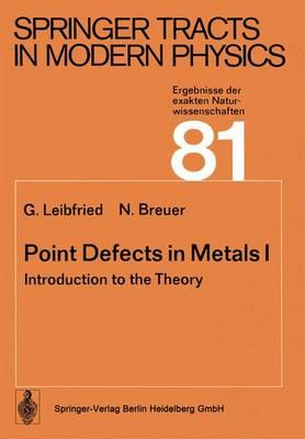 Point Defects in Metals I