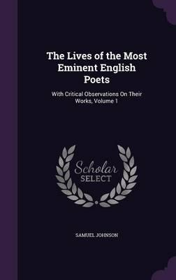 Lives of the Most Eminent English Poets