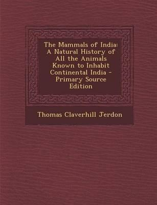 The Mammals of India