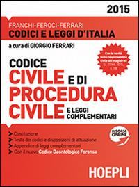 Codice civile e di procedura civile 2015