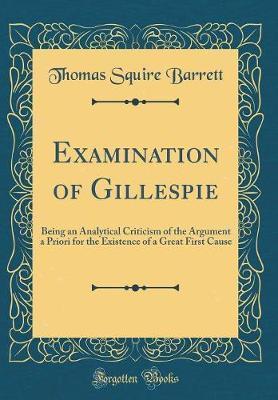 Examination of Gillespie