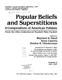 Popular beliefs and superstitions