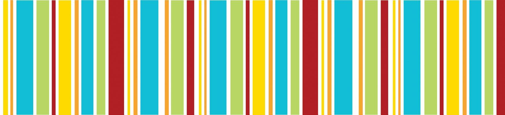 Hipster Stripes Straight Borders