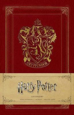 Harry Potter - Gryffindor Ruled Notebook