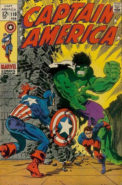 Captain America Vol.1 #110
