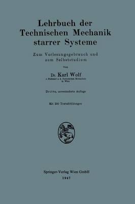 Lehrbuch Der Technischen Mechanik Starrer Systeme