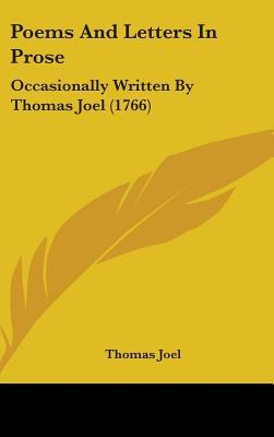 Poems and Letters in Prose