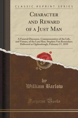 Character and Reward of a Just Man