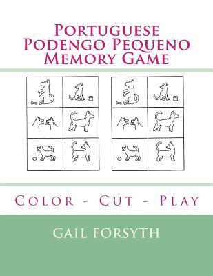 Portuguese Podengo Pequeno Memory Game