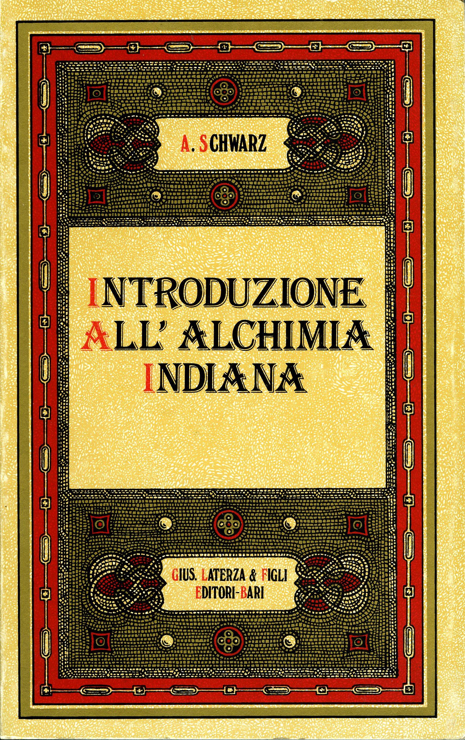 Introduzione all'alchimia indiana