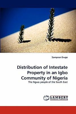 Distribution of Intestate Property in an Igbo Community of Nigeria