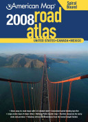 American Map 2008 Road Atlas United States Canada Mexico