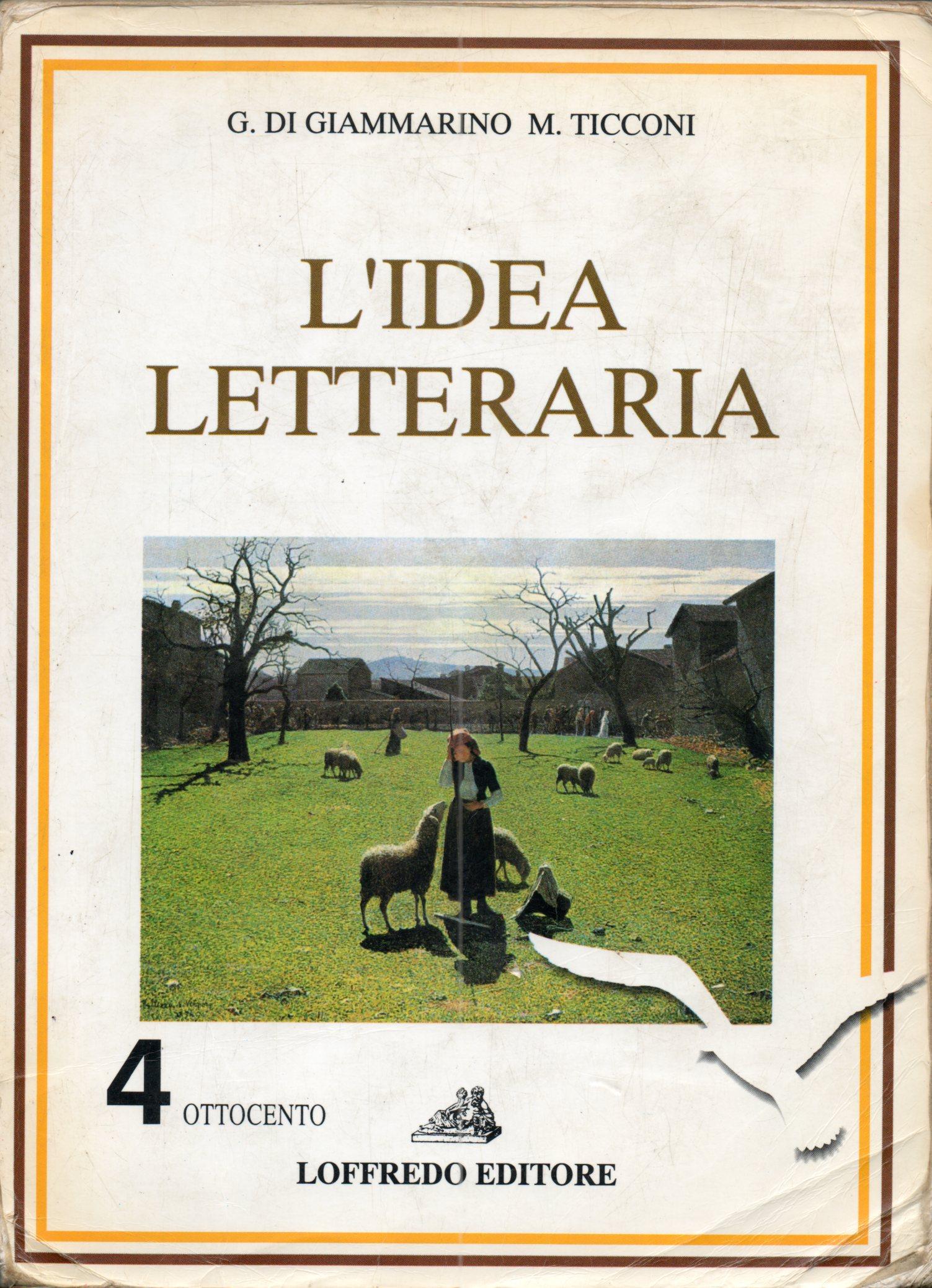 L' idea letteraria: ...