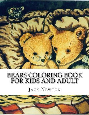 Bears Coloring Book for Kids and Adult