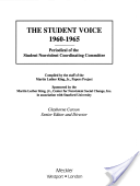 The Student Voice, 1960-1965