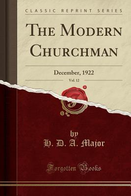The Modern Churchman, Vol. 12
