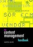 The Content Management Handbook