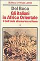 Gli italiani in Afri...