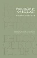Philosophy of Biolog...
