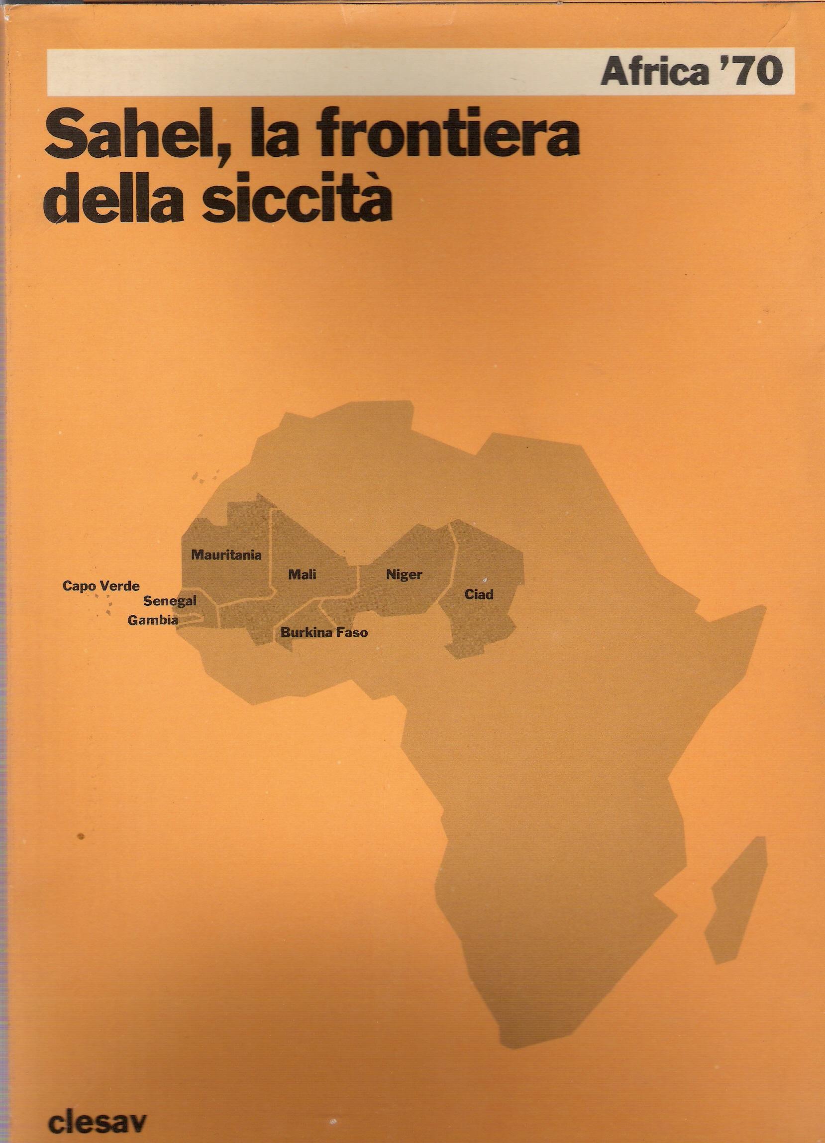 Sahel, la frontiera della siccità