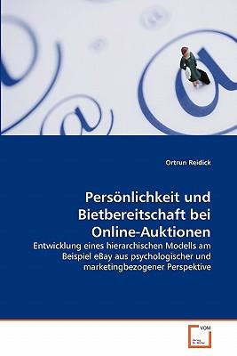 Persönlichkeit und Bietbereitschaft bei Online-Auktionen