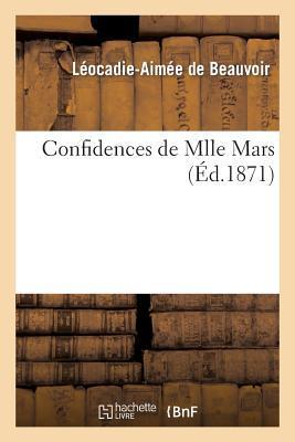 Confidences de Mlle Mars (ed.1871)